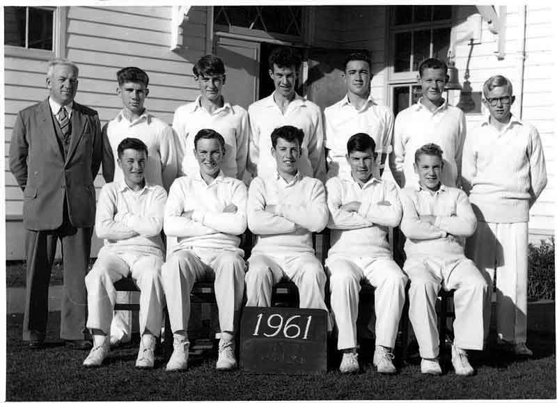 1961---Cricket-First-Eleven